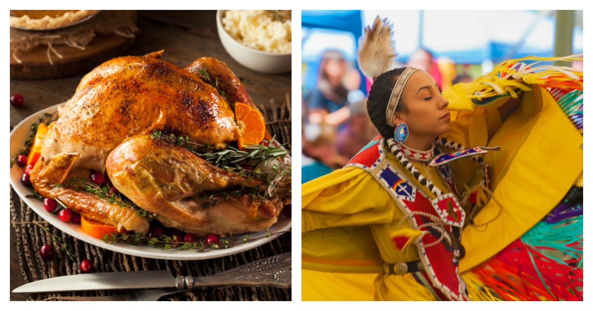Here are some of the ways college students prepared for Thanksgiving this year. Left, SHUTTERSTOCK/Brent Hofacker/ Right, SHUTTERSTOCK/ Dee Browning