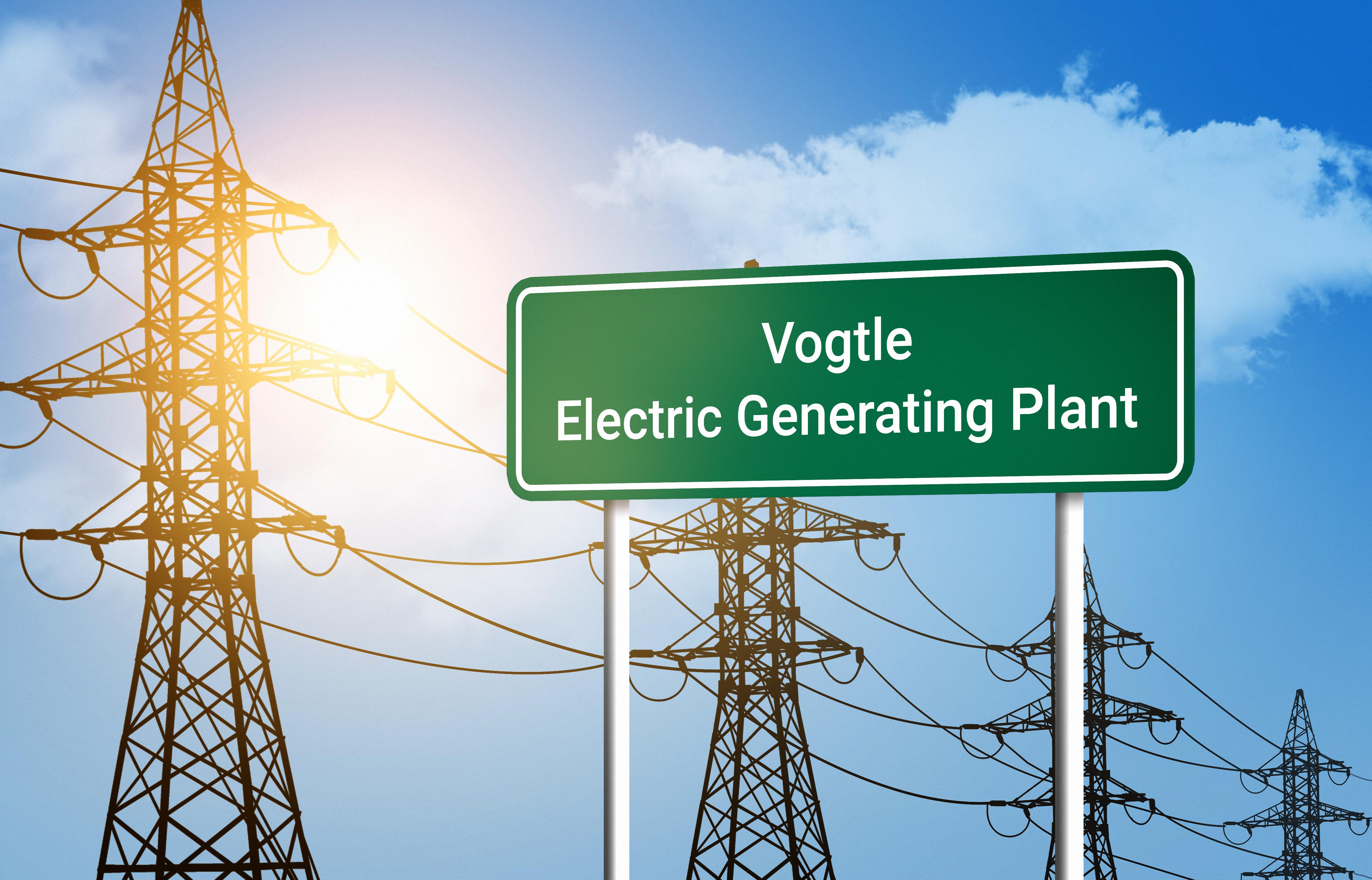 Vogtle Nucleaer Plant Sign. Shutterstock