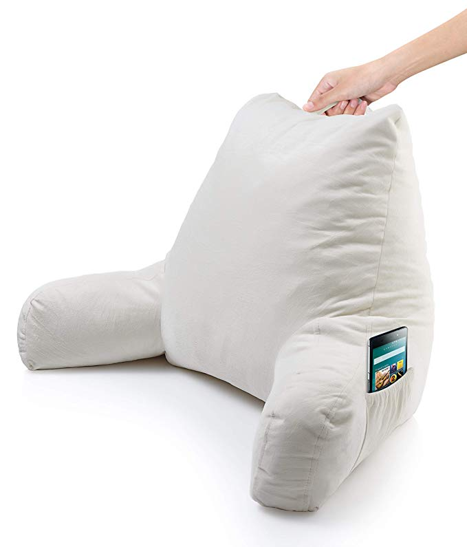 Normally $46, this back pillow is 13 percent off (Photo via Amazon)