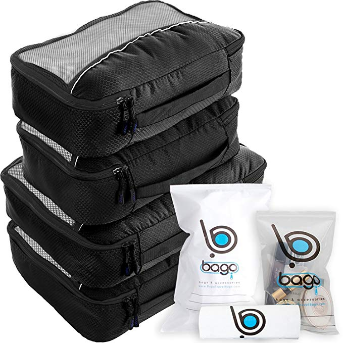 Normally $30, this 10-piece set of packing cubes is 20 percent off (Photo via Amazon)