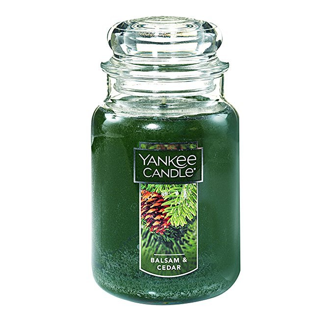 Normally $28, this Yankee candle is 43 percent off today (Photo via Amazon)