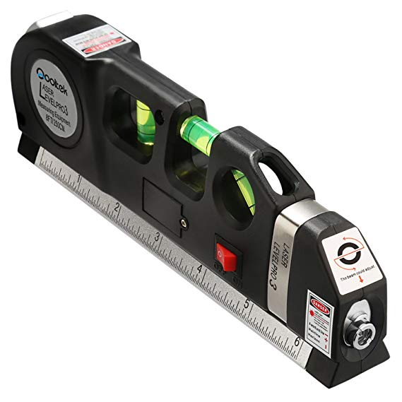 Normally $25, this #1 bestselling laser level is 44 percent off (Photo via Amazon)