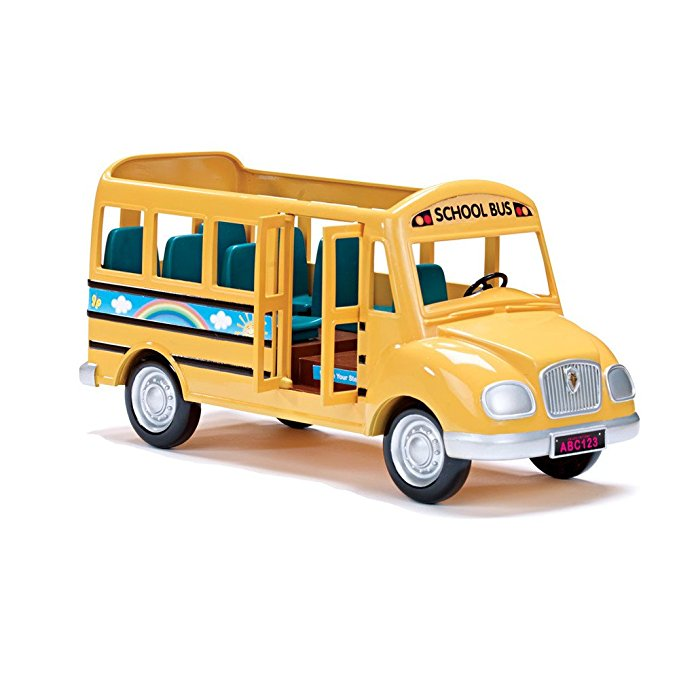 Normally $50, this Calico Critters school bus is 40 percent off (Photo via Amazon)