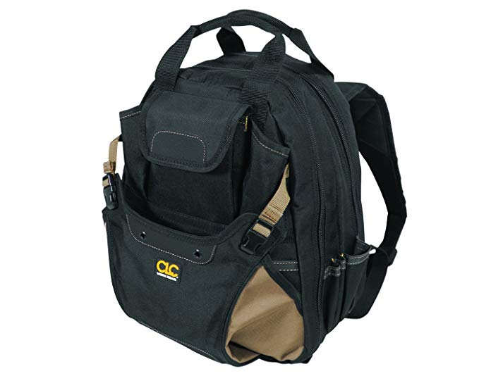 Normally $90, this carpenter's backpack is 52 percent off today (Photo via Amazon)