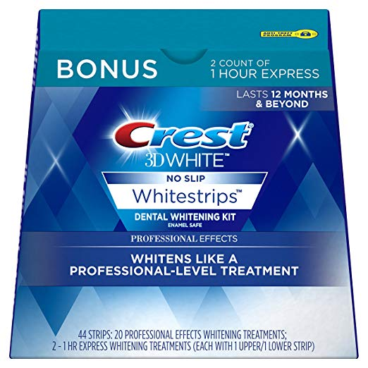 Normally $68, these #1 bestselling white strips are 59 percent off today (Photo via Amazon)