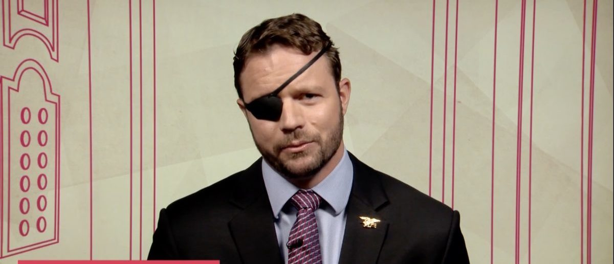 Republican congressional candidate and former Navy SEAL Dan Crenshaw Screenshot/YouTube