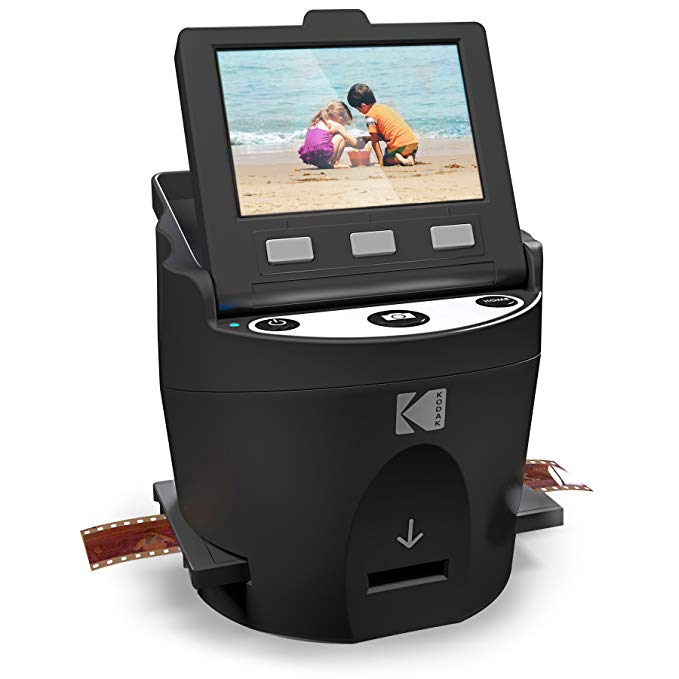 Normally $230, this digital film and slide scanner is 48 percent off today (Photo via Amazon)