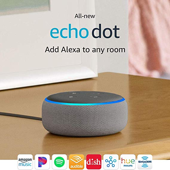 Normally $50, the all-new Echo Dot is 52 percent off (Photo via Amazon)