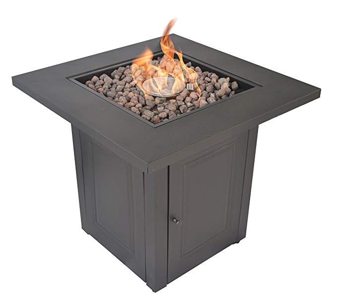 Normally $200, this fire table is 50 percent off today (Photo via Amazon)