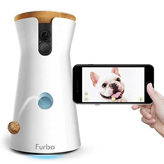 Normally $250, the Furbo dog camera is 32 percent off (Photo via Amazon)
