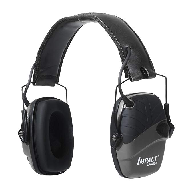 Normally $58, these shooting earmuffs are 40 percent off today (Photo via Amazon)
