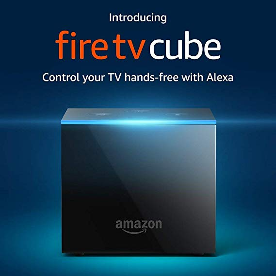 Normally $120, the Fire TV Cube is 50 percent off (Photo via Amazon)