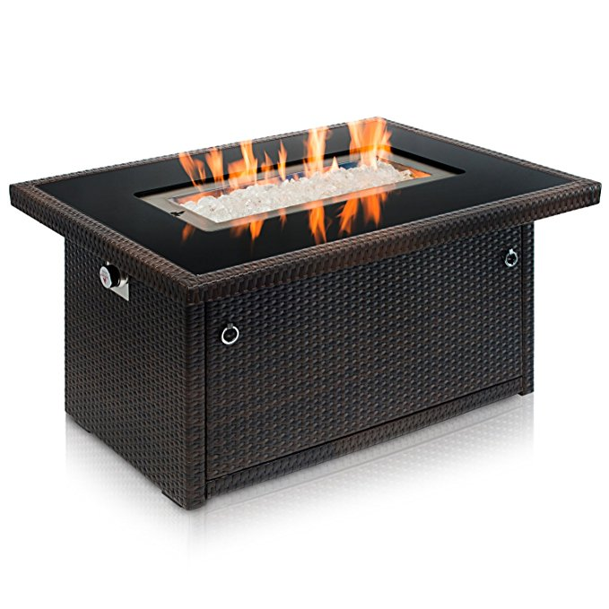 Normally $560, this fire pit is 23 percent off today (Photo via Amazon)