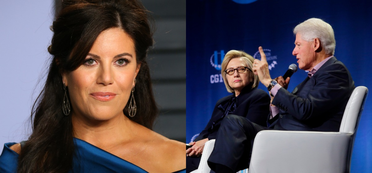 Image result for Monica Lewinsky Attacks Complicit Media For Never Asking Bill Clinton About Their Affair