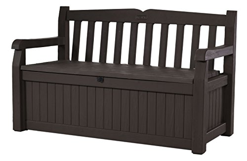 Normally $170, this storage garden bench is 54 percent off today (Photo via Amazon)