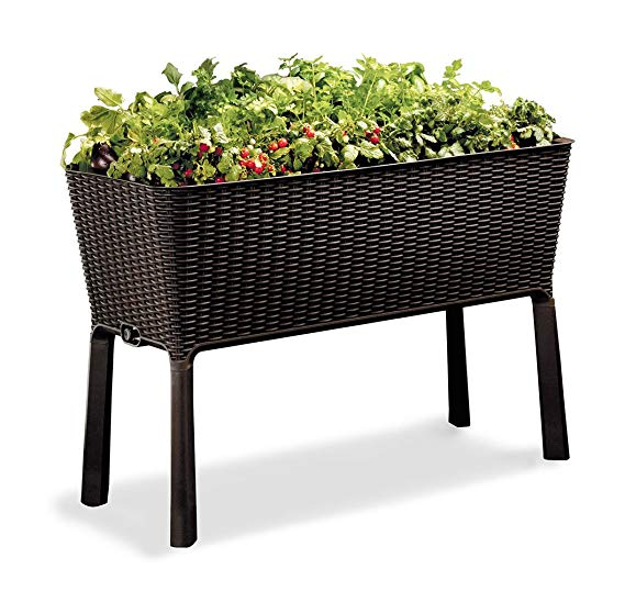 Normally $117, this raised garden bed is 46 percent off today (Photo via Amazon)