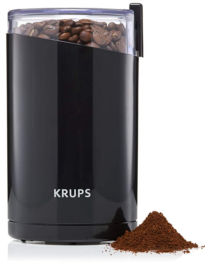 Normally $30, this electric coffee grinder is 47 percent off (Photo via Amazon)