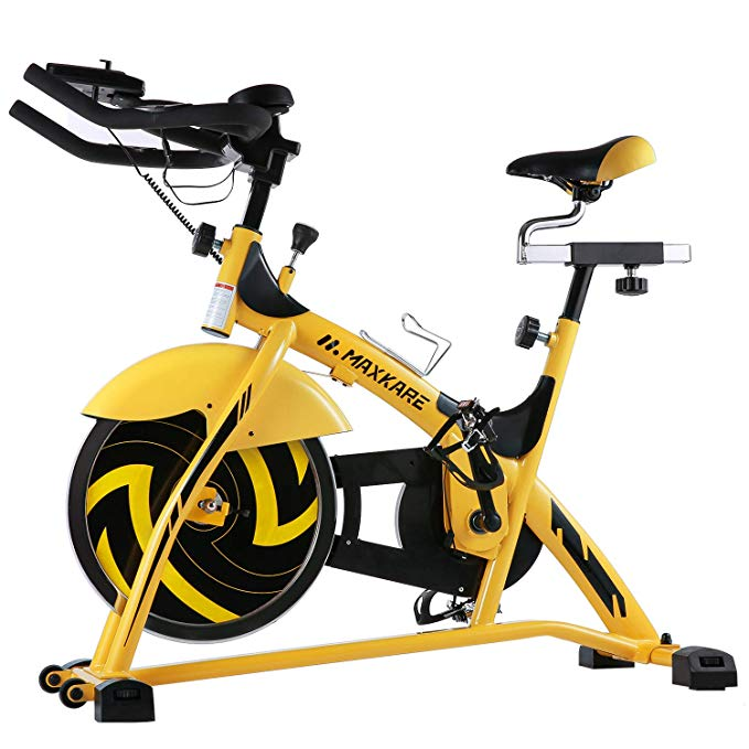Normally $240, this indoor cycle bike is 25 percent off with his code (Photo via Amazon)
