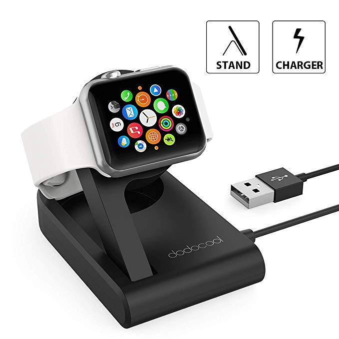 Normally $27, this Apple Watch charger is 23 percent off with this code (Photo via Amazon)