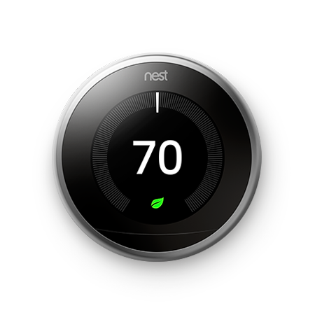 Normally $250, the Nest Learning Thermostat is $70 off (Photo via Walmart)