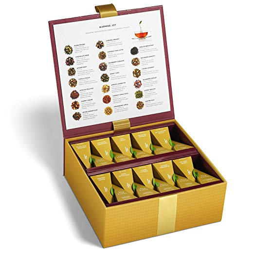 Normally $60, this #1 new release tea sampler is 30 percent off today (Photo via Amazon)