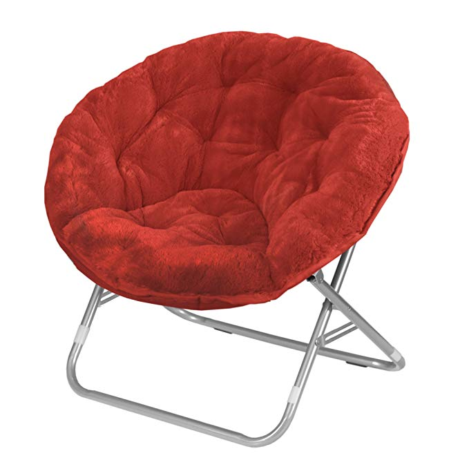 Normally $70, this papasan chair is 27 percent off (Photo via Amazon)