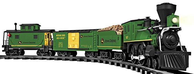 Normally $100, this train set is 45 percent off today (Photo via Amazon)