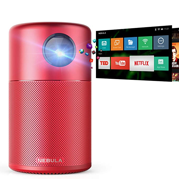 Normally $370, this mini projector is 35 percent off today (Photo via Amazon)
