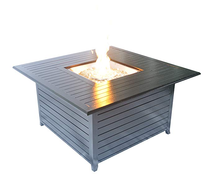Normally $500, this fire pit table is 34 percent off today (Photo via Amazon)