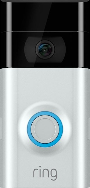 Normally $200, this Ring video doorbell is 30 percent off (Photo via Best Buy)