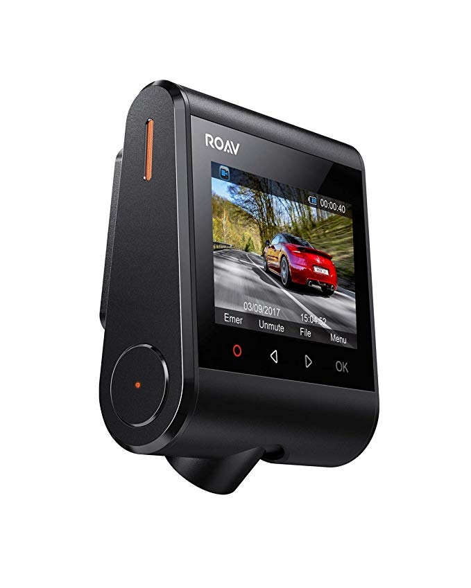 Normally $110, this dash cam is 35 percent off (Photo via Amazon)