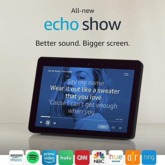 Normally $230, the all-new Echo Show is $50 off (Photo via Amazon)