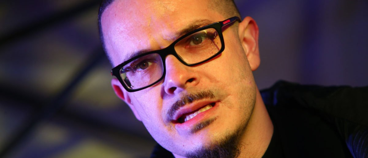 Pictured is left-wing activist Shaun King. (Photo by Karen Ducey/Getty Images)