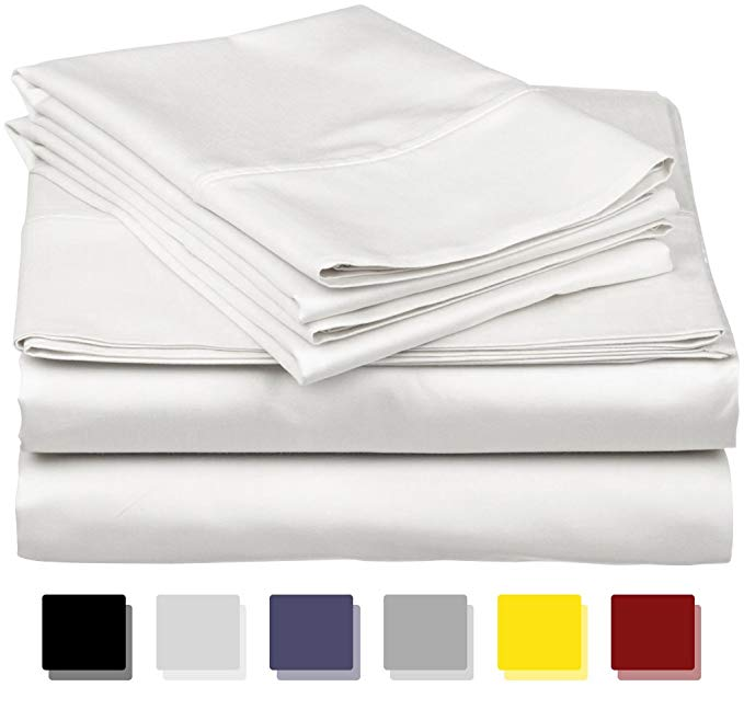Normally $115, these 4-piece bedsheet sets are 40 percent off today (Photo via Amazon)