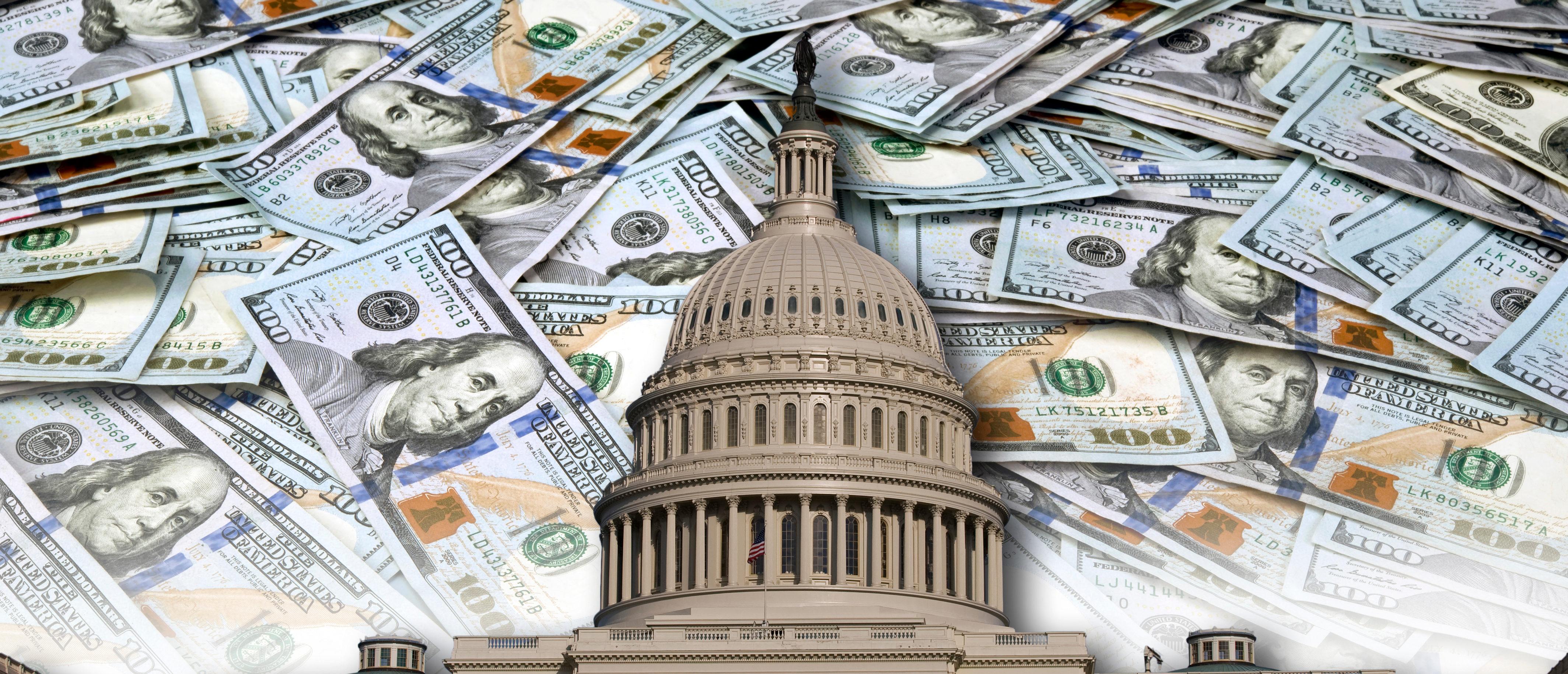 Government Spending/ Shutterstock/ By W. Scott McGill