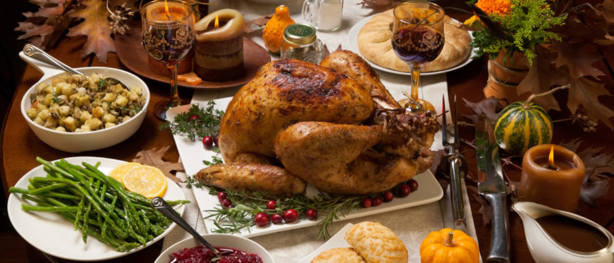 Thanksgiving Meal shutterstock_335079266