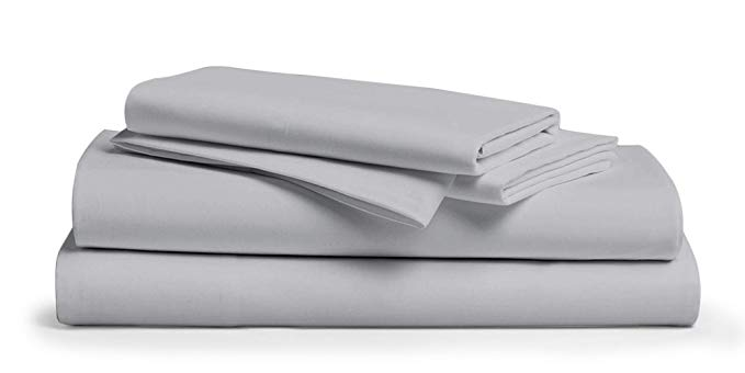 Normally $100, this 4-piece sheet set is 30 percent off today (Photo via Amazon)