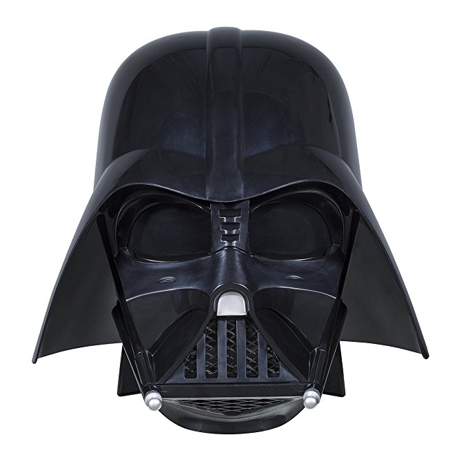 Normally $100, this Darth Vader helmet is 40 percent off (Photo via Amazon)