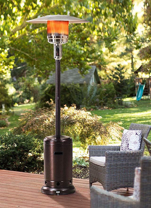 Normally $150, this patio heater is 40 percent off today (Photo via Amazon)