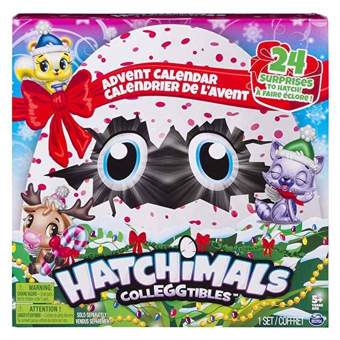 Normally $25, this Hatchimals Advent calendar is 53 percent off today (Photo via Amazon)