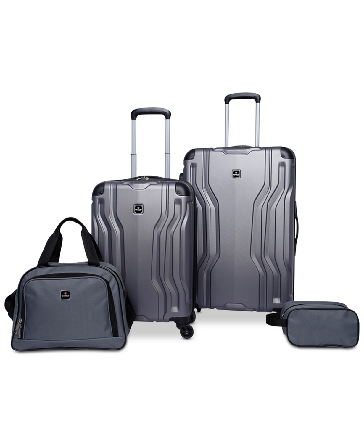 Normally $260, this 4-piece luggage set is 69 percent off (Photo via Macy's)