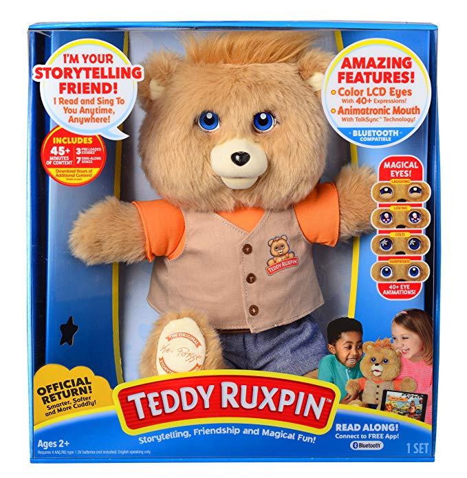 Normally $111, the new Teddy Ruxpin is 34 percent off (Photo via Amazon)