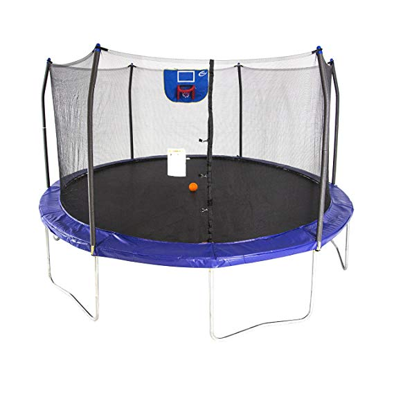 Normally $350, this trampoline is 26 percent off today (Photo via Amazon)