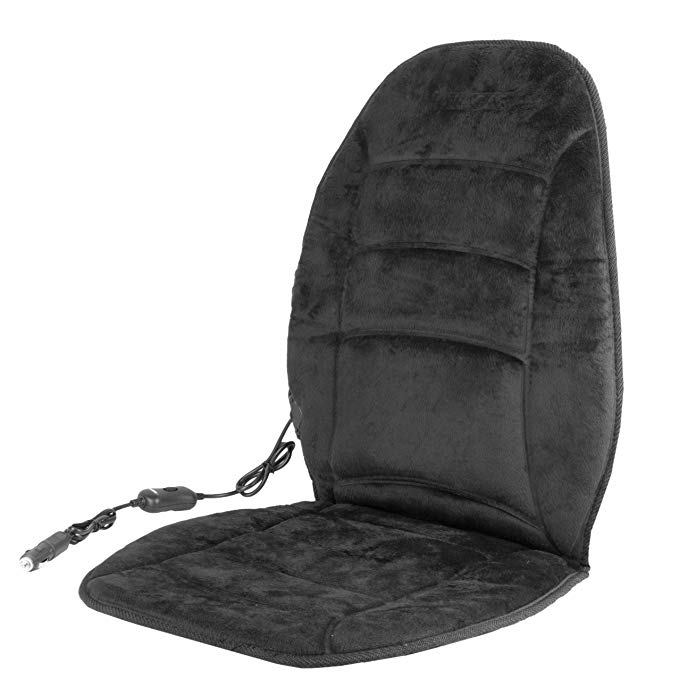 Normally $50, this heated seat cushion is 43 percent off (Photo via Amazon)