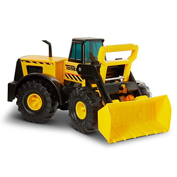 Normally $40, this front loader toy is 48 percent off today (Photo via Amazon)