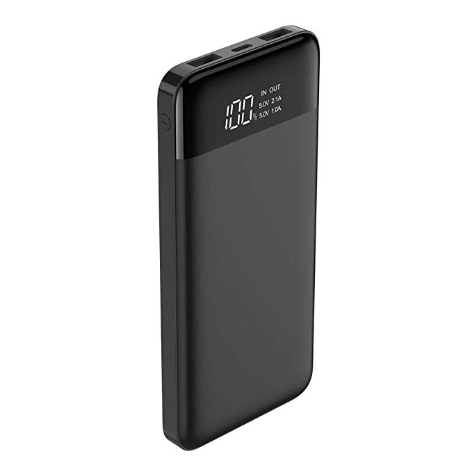 Normally $25, this portable charger is 35 percent off when applying the coupon (Photo via Amazon)
