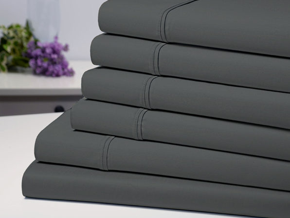 Normally $120, this 6-piece sheet set is 67 percent off