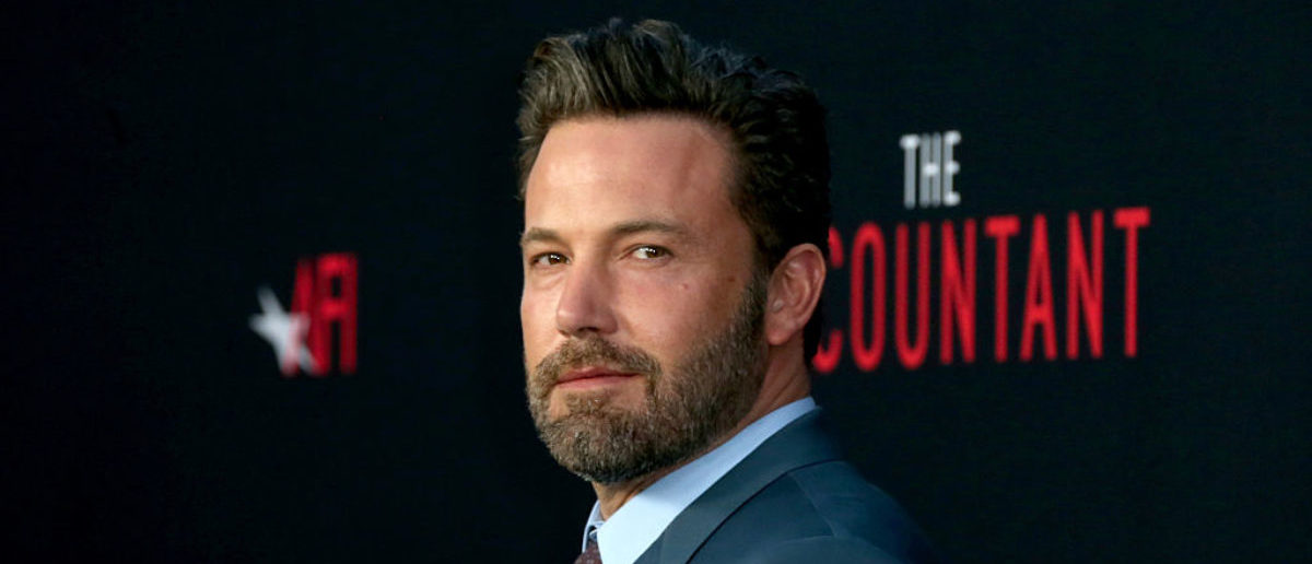 """Actor Ben Affleck attends the premiere of Warner Bros Pictures' """"The Accountant"""" at TCL Chinese Theatre on October 10, 2016 in Hollywood, California. (Photo by Frederick M. Brown/Getty Images)"""