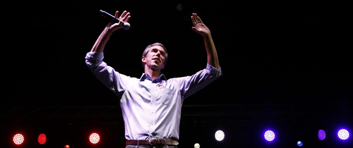 Democratic Texas U.S. Senate candidate Rep. Beto O'Rourke concedes to Senator Cruz in El Paso, Texas