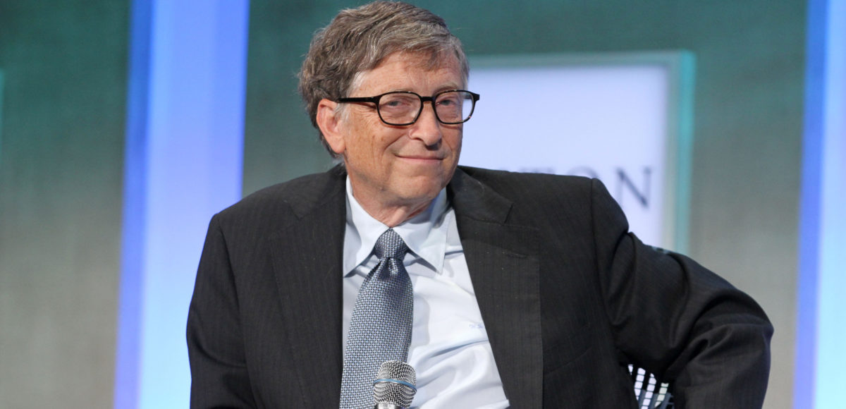 Bill Gates attends the Clinton Global Initiative Annual Meeting at The Shertaon New York Hotel. Shutterstock